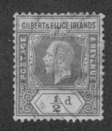 Gilbert & Ellice Islands 14 USED CV $6.00 BIN $2.75