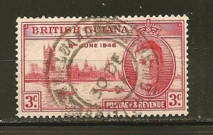 British Guiana 242 Peace Issue Used