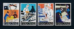 [47757] Faroe Islands 1990 Marine life Fish Fishing industry MNH