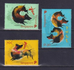 Singapore 2018 Chinese New Year - Year of the Dog  (MNH)  - New Year