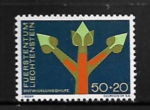 LIECHTENSTEIN, B24, MINT HINGED, TREE