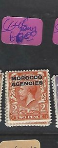 MOROCCO AGENCIES  (P2308B)  KGV   2D  SG 45   MOG
