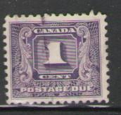 Canada Sc J6 1930 1 c  Postage Due stamp used