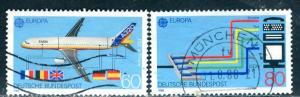 Germany; 1988: Sc. # 1552-1553: O/Used Cpl. Set
