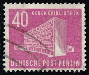 Germany #9N109 Memorial Library; Used (2.75)