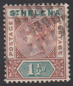 St. Helena 42 Used CV $15.00
