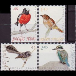 NORFOLK IS. 2009 - Scott# 985-8 Birds Set of 4 NH