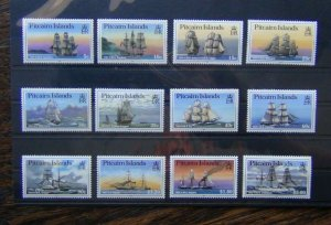 Pitcairn Island 1988 Ships set to $5 LMM SG315 - SG326