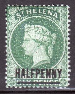 St. Helena - Scott #34 - MH - SCV $3.25