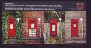 Great Britain Sc 2679 2009 Post Boxes stamp sheet mint  NH