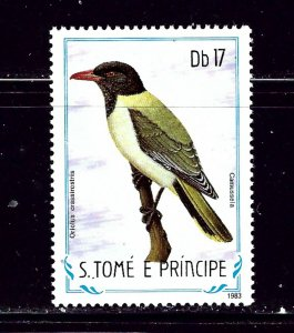 St Thomas and Prince Is 741 1983 Birds