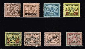 ITALY STAMP VATICAN MINT USED STAMP COLLECTION LOT #T8