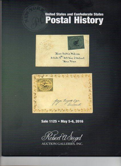 Siegel Auction of US and Confederate Postal History
