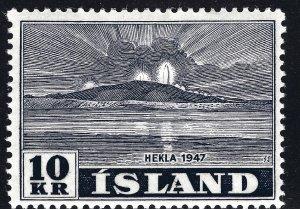 Iceland SC#252 Mint F-VF hr SCV$75.00...fill a great spot!!