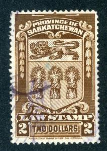 van Dam SL40 - Used- $1 - 1908 Saskatchewan Law