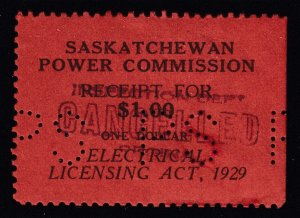 Canada, Saskatchewan (Revenue), van Dam SE8, used