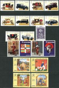 VATICAN Sc#1028-1062 Ten Sets & 1 S/s 1997 Year Complete Mint OG NH