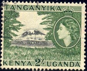 Mt. Kilimarjaro, Kenya, Uganda & Tanzania SC#114 used