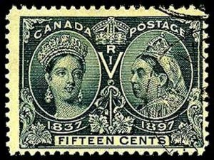 CANADA 58  Used (ID # 41067)