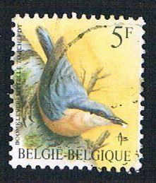 Belgium 1224 Used Bird (BP1801)