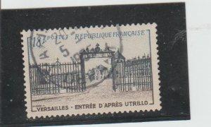 France  Scott#  728  Used  (1954 Versailles)