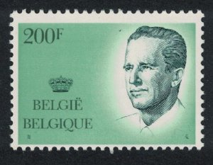 Belgium King Baudouin 200F Key Value High Cat SG#2731