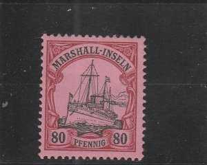 Marshall Islands  Scott#  21  MH  (1901 Kaiser's Yacht)