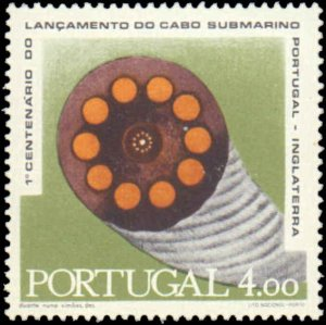 Portugal #1080-1083, Complete Set(4), 1970, Never Hinged
