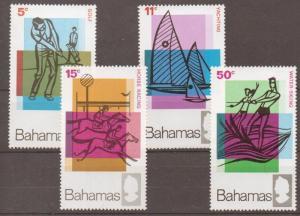 BAHAMAS SG315/8 1968 TOURISM MNH
