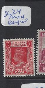 BURMA (P0410B) KGVI  2A    SG 24    MNH