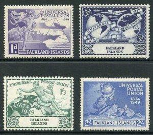 Falkland Is SG168/71 1949 UPU Set of 4 U/M