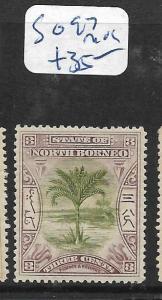 NORTH BORNEO  (PP3105B)  3C TREE  SG 97   MOG
