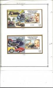 St Vincent 12ea Old Album Pages Includes #1009/1106 Big Value $$$