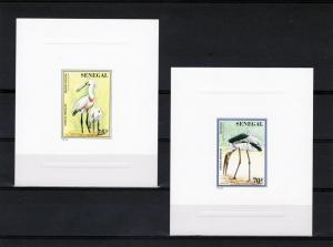 Senegal 1997 BIRDS 5 Deluxe SS MNH VF Scott # 1236-1240
