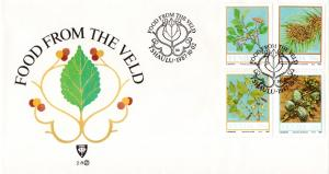 Venda - 1987 Food from the Veld FDC SG 163-166