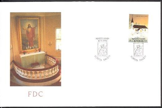 Aland - 1990 St Andrew's Church (FDC)