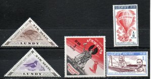 Lundy 1954 issues