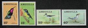 Anguilla #36-9 MNH Set - Birds