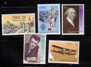 Ireland Sc 939-43 1994 Anniversaries stamp set mint NH