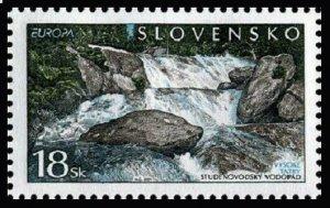 Slovakia 379,MNH.Michel 394. EUROPE CEPT-2001.Waterfalls.