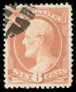 momen: US Stamps #208 USED PF CERT & PSE GRADED CERT XF-SUP 95