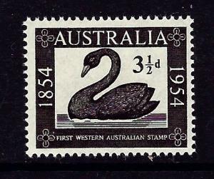 Australia 274 MNH 1954 Swan