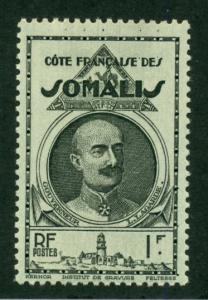 Somali Coast 1940 #166 MH SCV(2018)=$0.55