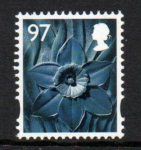Great Britain Wales Sc 43 2014 97p Daffodil stamp mint NH