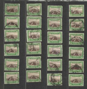 SOUTH WEST AFRICA USED STAMPS scott 119b 48 copies TOP DENOM 136 2015
