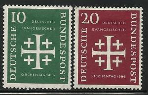 Germany # 744-5, Mint Hinge Remain