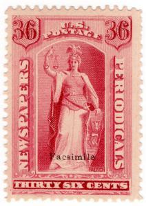 (I.B) US Postal Service : Newspapers & Periodicals 36c (Senpf reprint)