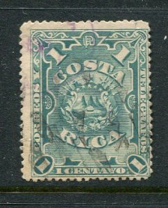 Costa Rica #35 Used- Penny Auction