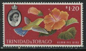 Trinidad & Tobago 1960 $1.20 mint o.g. hinged