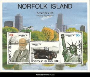 Norfolk Islands Scott 384a Mint never hinged.